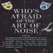 Click here for more info about 'Art Of Noise - Who's Afraid Of The Art Of Noise'