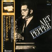 Click here for more info about 'Art Pepper - Art Is The Art Vol. 1'