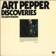 Click here for more info about 'Art Pepper - Discoveries - The Savoy Sessions'