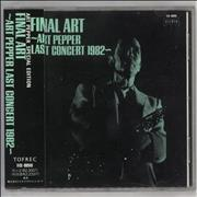 Click here for more info about 'Final Art - Art Pepper Last Concert 1982'