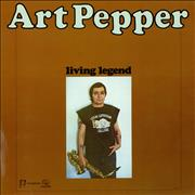 Click here for more info about 'Art Pepper - Living Legend'