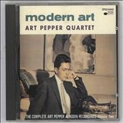 Click here for more info about 'Art Pepper - Modern Art'