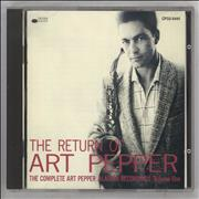 Click here for more info about 'The Return Of Art Pepper'