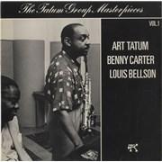 Click here for more info about 'Art Tatum - The Tatum Group Masterpieces - Tatum, Carter & Bellson Vol 1'