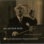 Click here for more info about 'Arthur Bliss - PRS 80th Birthday Presentation - Autographed'