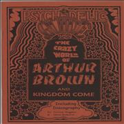 Click here for more info about 'Arthur Brown - The Psychedelic Guide To The Crazy World Of Arthur Brown And Kingdom Come'