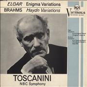 Click here for more info about 'Arturo Toscanini - Elgar: Enigma Variations, Op. 36 / Brahms: Variations On A Theme By Haydn'