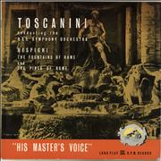 Click here for more info about 'Arturo Toscanini - The Pines Of Rome/ Fountains Of Rome'