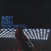 Click here for more info about 'Ash - You Can't Have It All - Red Vinyl'