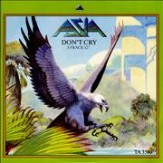Click here for more info about 'Asia - Don't Cry'