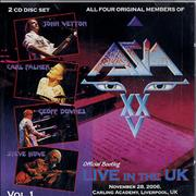 Click here for more info about 'Asia - Official Bootleg: Live In The UK - Volume 1-3'