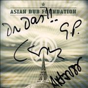 Click here for more info about 'Asian Dub Foundation - More Signal More Noise - Autographed'