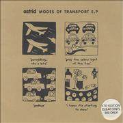 Click here for more info about 'Astrid - Modes Of Transport E.P. - 1 clear, 1 black'