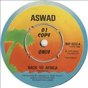 Click here for more info about 'Aswad - Back To Africa'