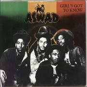 Click here for more info about 'Aswad - Girl's Got To Know'