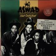 Click here for more info about 'Aswad - Not Satisfied - Sticker sealed + Gold promo stamped'
