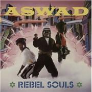 Aswad Rebel Souls UK vinyl LP