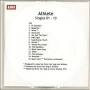 Click here for more info about 'Athlete - Singles 01 - 10'