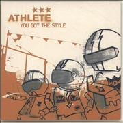 Click here for more info about 'Athlete - You Got The Style'