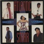 Click here for more info about 'Atlantic Starr - Secret Lovers - Silver Injection Labels + Picture Sleeve'