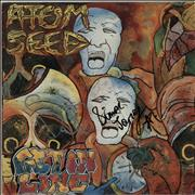 Click here for more info about 'Atom Seed - Get In Line - Autographed'