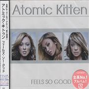 Atomic Kitten Feels So Good Japan CD album Promo