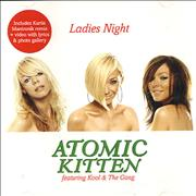 Atomic Kitten Ladies Night - CD2 UK CD single