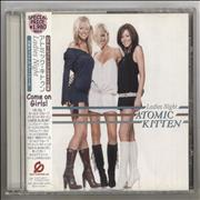Click here for more info about 'Atomic Kitten - Ladies Night - Promo + Obi'