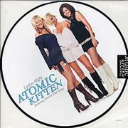 "Atomic Kitten Ladies Night - Sticker Sealed UK 12"" picture disc"