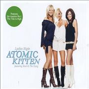 Atomic Kitten Ladies Night UK CD single