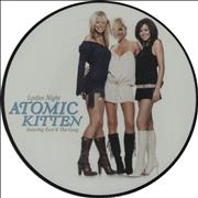 "Atomic Kitten Ladies Night UK 12"" picture disc"