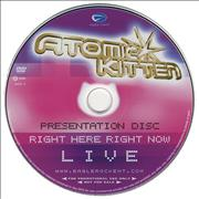 Click here for more info about 'Atomic Kitten - Right Here Right Now Live'