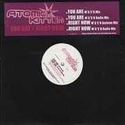 Click here for more info about 'Atomic Kitten - You Are/Right Now'