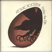 Click here for more info about 'Atomic Rooster - Friday The 13th - p/s'