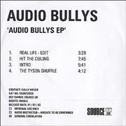 Click here for more info about 'Audio Bullys - Audio Bullys EP'