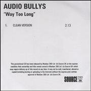 Click here for more info about 'Audio Bullys - Way Too Long - Clean Version'