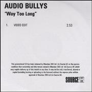 Click here for more info about 'Audio Bullys - Way Too Long - Video Edit'