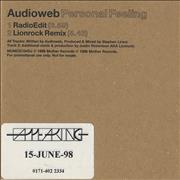 Click here for more info about 'Audioweb - Personal Feeling'