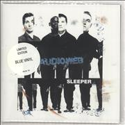 Click here for more info about 'Audioweb - Sleeper - Blue Vinyl + Poster Sleeve'