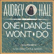 Click here for more info about 'One Dance Won't Do - Signed'