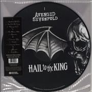 Click here for more info about 'Hail To The King - Double Picture Disc'
