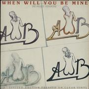 Click here for more info about 'Average White Band - When Will You Be Mine (Re-Mixed Version) - Clear vinyl'