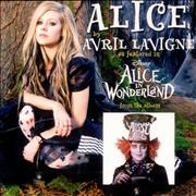 Avril Lavigne Alice Japan CD-R acetate Promo