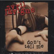 Click here for more info about 'Avril Lavigne - Don't Tell Me'
