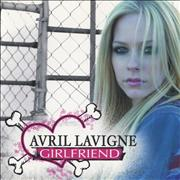 Avril Lavigne Girlfriend - Clean Version Japan CD-R acetate Promo