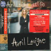Avril Lavigne Let Go - Japan Tour Edition Japan 2-disc CD/DVD set Promo