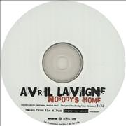 Avril Lavigne Nobody's Home Japan CD-R acetate Promo