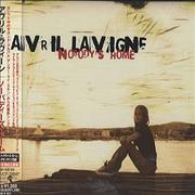 Avril Lavigne Nobody's Home Japan CD single Promo