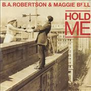 Click here for more info about 'B. A. Robertson - Hold Me - Inj - P/S'
