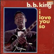 Click here for more info about 'B B King - I Love You So - Sealed'